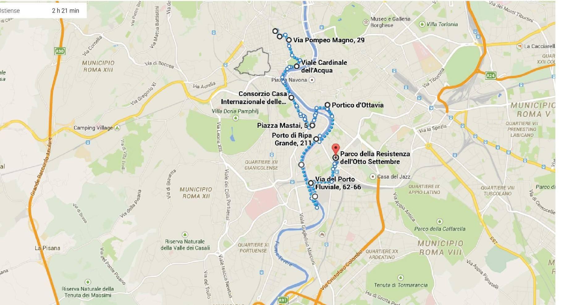 mappa 25 aprile