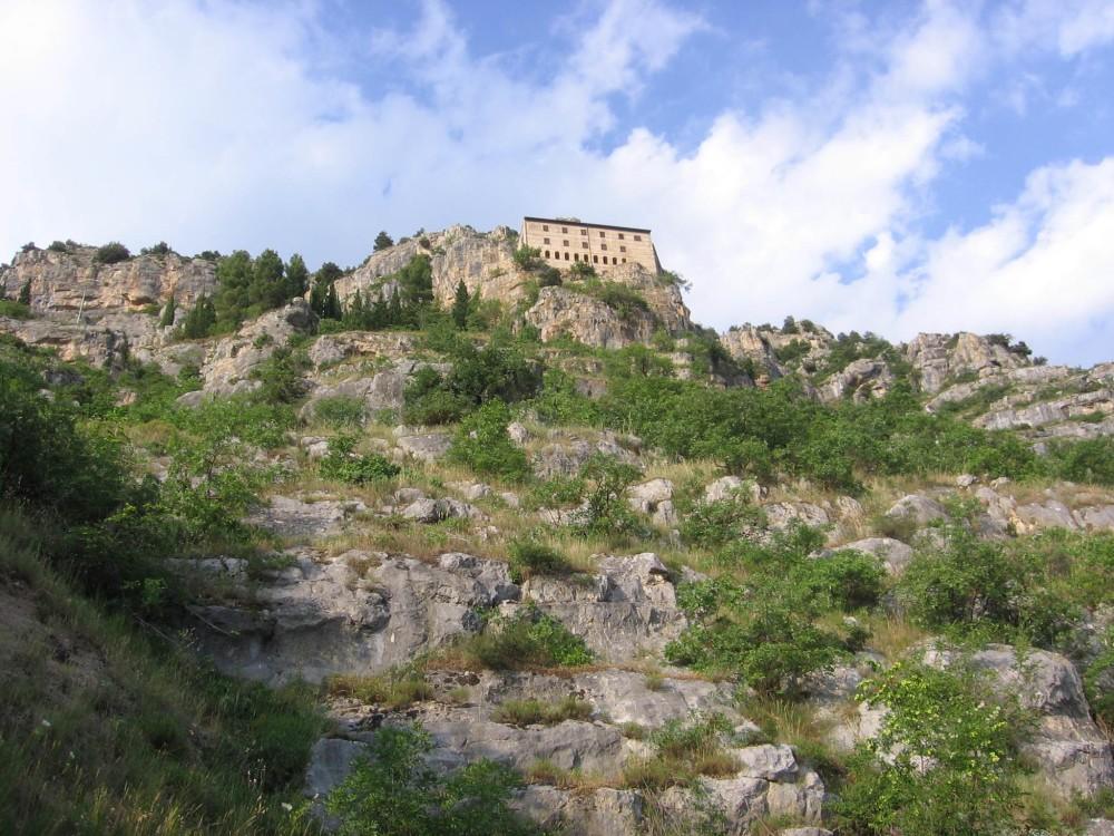 L'eremo di Sant'Onofrio al Morrone, presso Sulmona (AQ)