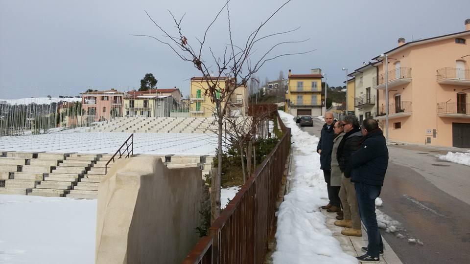 Parco della Memoria di San Giuliano di Puglia (dai sopralluoghi di gennaio 2016)