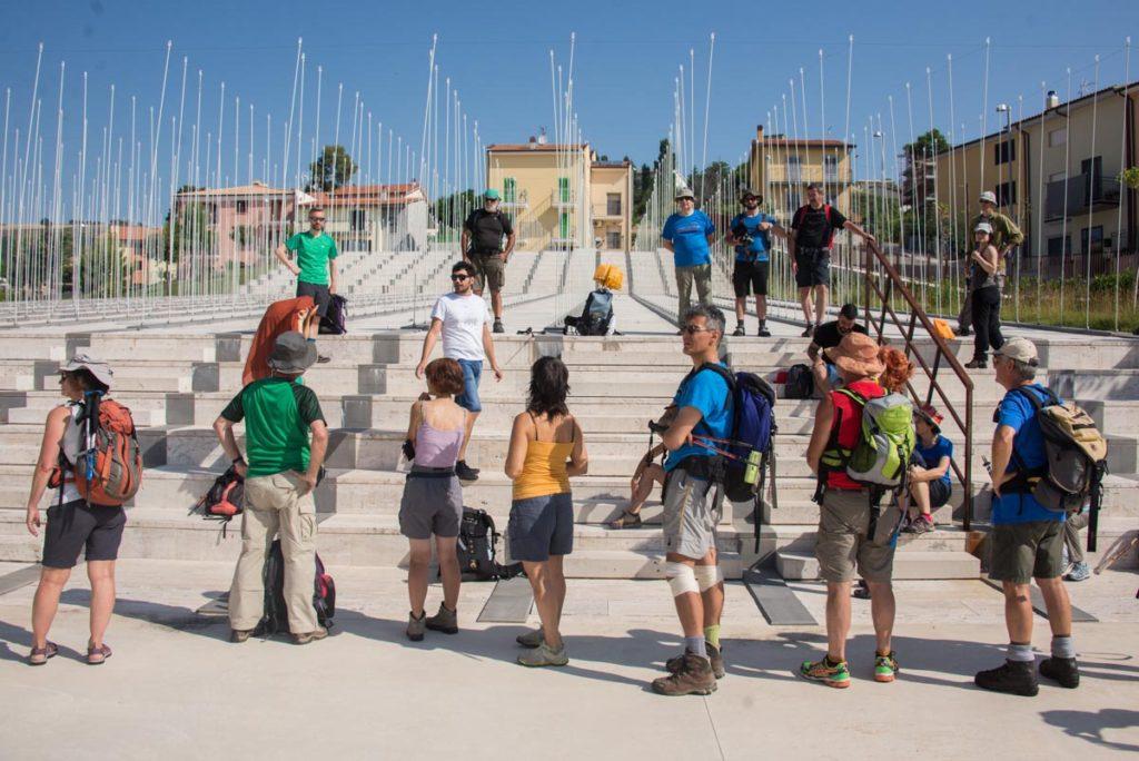 Visita al Parco della Memoria a S. Giuliano di Puglia